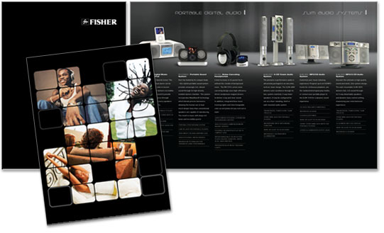Fisher Product Brochure Design
